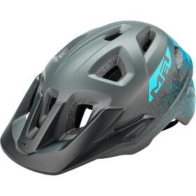 MET Eldar Cykelhjelm Børn, gray texture